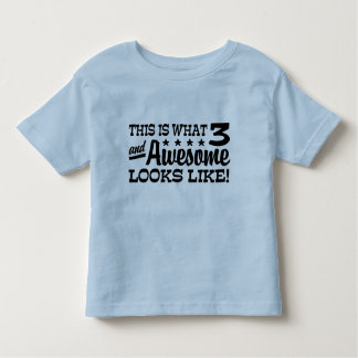 3rd Birthday Toddler T-Shirt