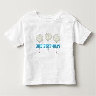3rd Birthday Volleyball Player Toddler T-Shirt