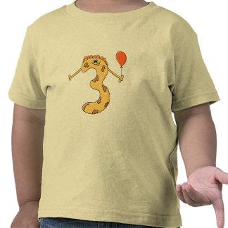 3rd Birthday. Yellow birthday monster cartoon. Shirts