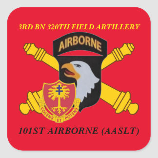 3RD BN 320TH FIELD ARTILLERY 101ST ABN STICKERS
