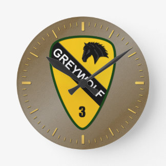 3rd Brigade Combat Team, 1st Cavalry Division Wall Clocks