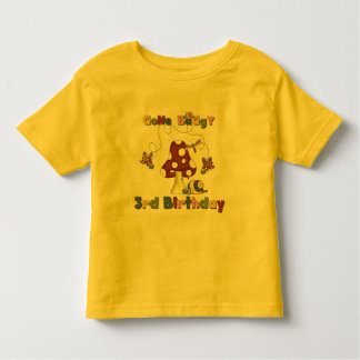 3rd Bug Birthday Tshirts and Gifts