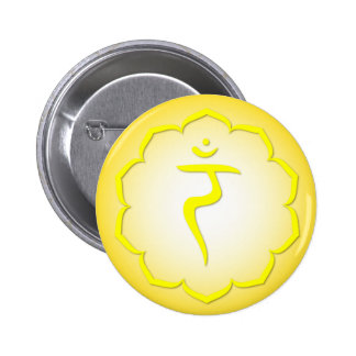 3rd Chakra - Manipura Pinback Buttons