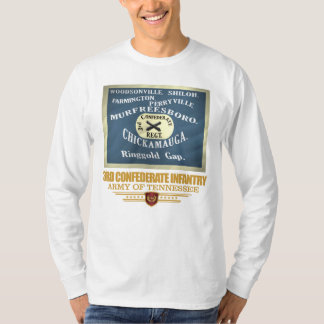 3rd Confederate Infantry T-Shirt