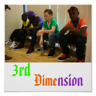 3rd Dimension Poster