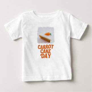 3rd February - Carrot Cake Day - Appreciation Day Baby T-Shirt