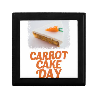 3rd February - Carrot Cake Day - Appreciation Day Gift Box
