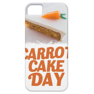 3rd February - Carrot Cake Day - Appreciation Day iPhone 5 Covers