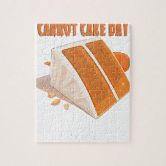 3rd February - Carrot Cake Day Jigsaw Puzzle