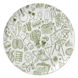 3rd February - Doodle Day - Appreciation Day Plate