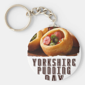 3rd February - Yorkshire Pudding Day Key Ring