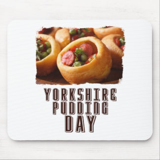 3rd February - Yorkshire Pudding Day Mouse Pad
