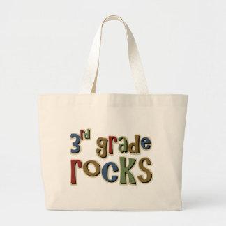 3rd Grade Rocks Third Jumbo Tote Bag