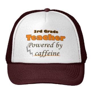 3rd Grade Teacher Powered by caffeine Cap