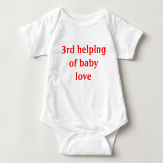 3rd helping of baby love baby bodysuit
