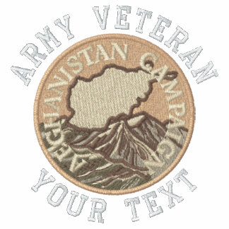 3rd Infantry Afghanistan Medal Embroidered Polo Shirt