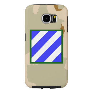 """3rd Infantry Division """"Rock of the Marne"""" Camo Samsung Galaxy S6 Cases"""