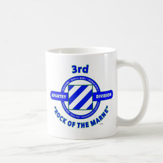 "3RD INFANTRY DIVISION""ROCK OF THE MARNE"" COFFEE MUG"