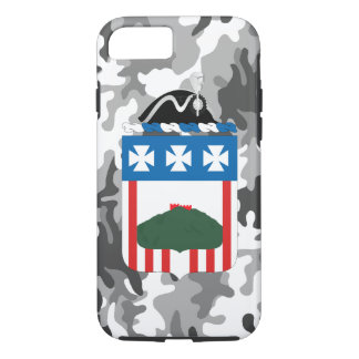 """3rd Infantry Regiment """"The Old Guard"""" Urban Camo iPhone 7 Case"""