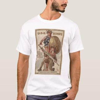 3rd Liberty Loan Campaign Boy Scouts (Restored) T-Shirt
