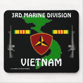 3rd Marine Vietnam Mousepad 2/b