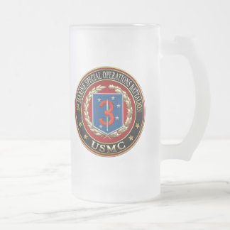 3rd MSOB [3D] Frosted Glass Beer Mug