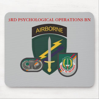 3RD PSYCHOLOGICAL OPERATIONS BATTALION  MOUSEPAD
