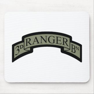3rd Ranger Bn Scroll, ACU Mouse Pad
