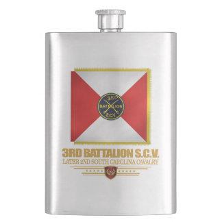 3rd SCV Cavalry Battalion Hip Flask