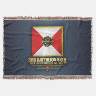 3rd SCV Cavalry Battalion Throw Blanket