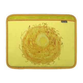 3rd-Solar Plexus Chakra Yellow Artwork #1 MacBook Sleeves