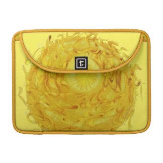 3rd-Solar Plexus Chakra Yellow Artwork #1 Sleeve For MacBooks