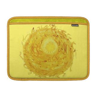 3rd-Solar Plexus Chakra Yellow Artwork #1 Sleeves For MacBook Air