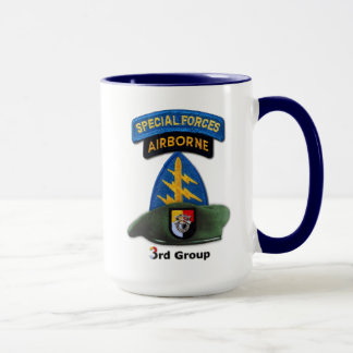 3rd Special Forces Group Green Berets SFG SF Vets Mug