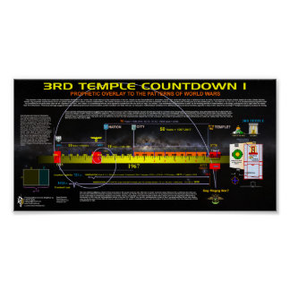3rd Temple Countdown I Poster