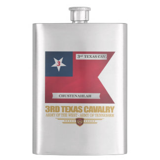 3rd Texas Cavalry Hip Flask