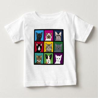 3x3 cats baby T-Shirt