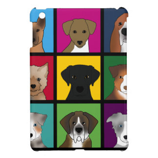 3x3 of dogs cover for the iPad mini