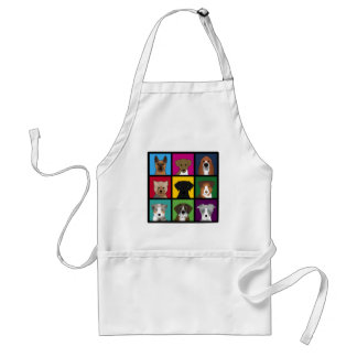 3x3 of dogs standard apron