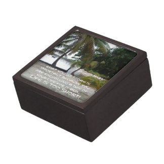 3x3 Square Wooden Gift Box Premium Jewelry Boxes