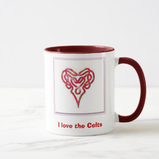 4009_celtic-heart, I love the Celts Mug
