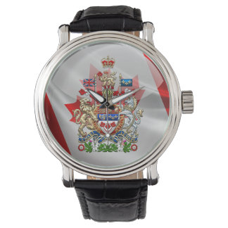 [400] Canada Coat of Arms [3D] Watch