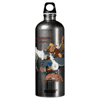 400 Years Don Quixote @QUIXOTEdotTV SIGG Traveller 1.0L Water Bottle