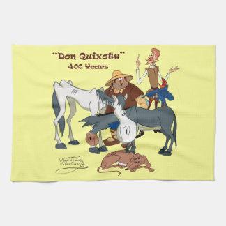 400 Years Don Quixote @QUIXOTEdotTV Tea Towels