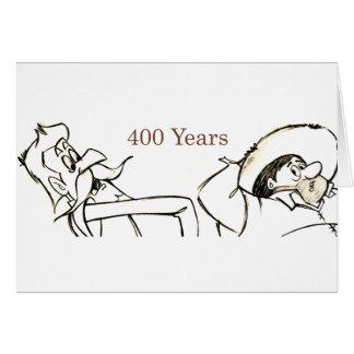 400 Years with Don Quixote & Sancho @QUIXOTEdotTV Greeting Card