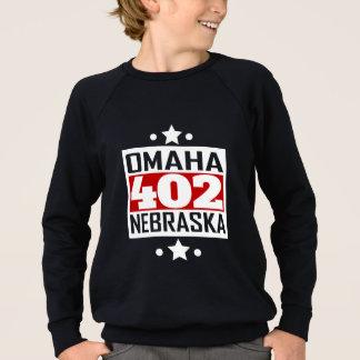 402 Omaha NE Area Code Sweatshirt