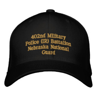 402nd Military Police Bn. Embroidered Hats