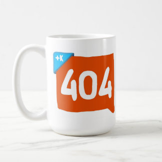 404 Klout not found. Coffee Mug