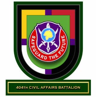 404th Civil Affairs Battalion flash Standing Photo Sculpture
