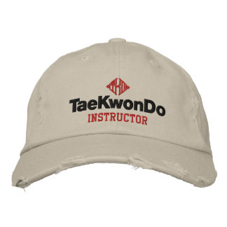 408 Tae Kwon Do Instructors Hat Embroidered Baseball Caps
